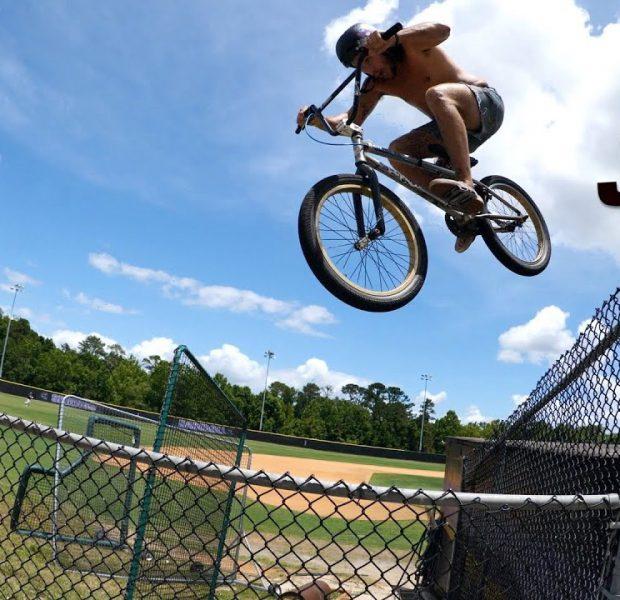 Trey Jones And The Double Fence Jump!