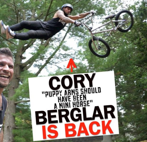 Cory Berglar Is Back And He's Going Huge Again!