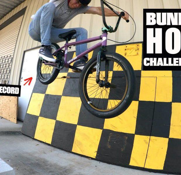 Highest Slo-Mo Bunny Hop Challenge!