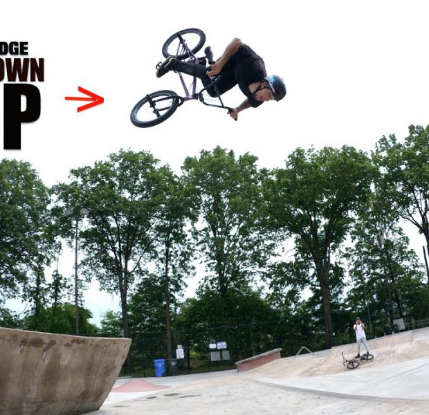 Matty Did The First Backflip On The Big Drop!