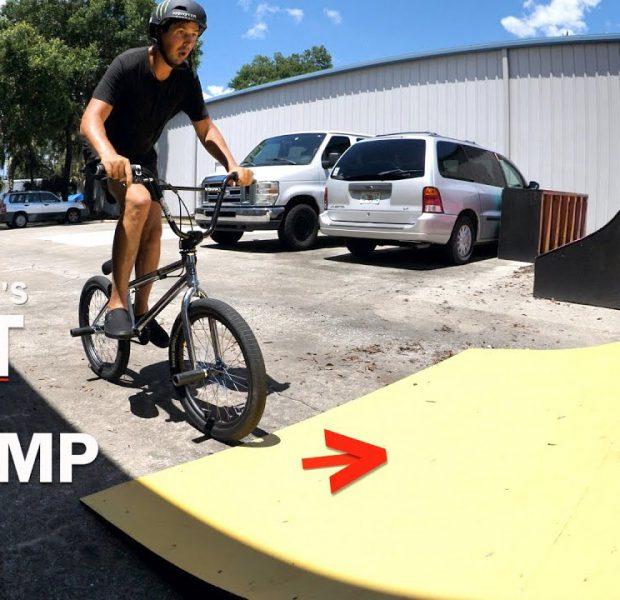 Scotty's NOT So Big Jump! (I'm Handicap Give Me A Break)