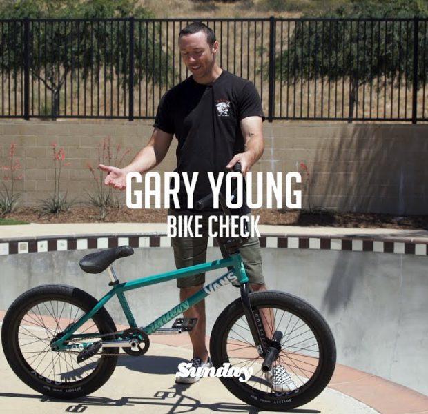 GARY YOUNG | Sunday Bikes – Custom Soundwave v3 Bike Check | BMX