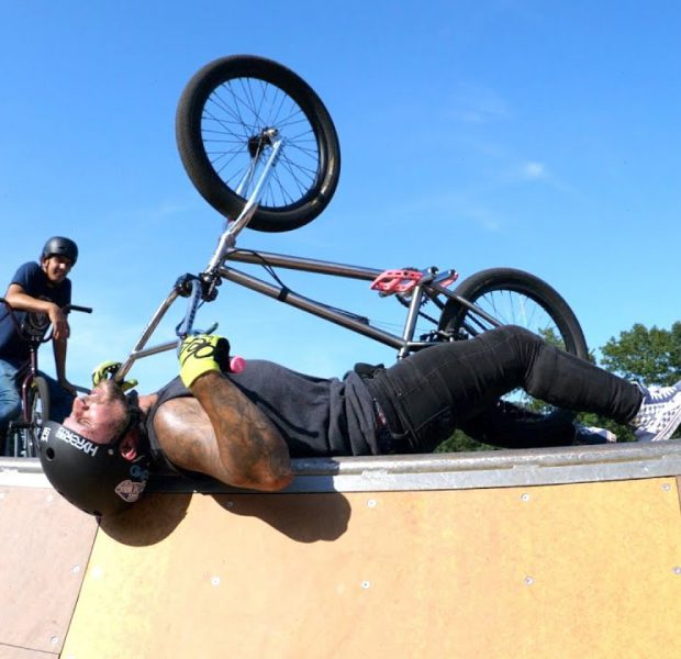 Rough Day At The Skatepark For Cory Berglar!