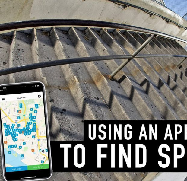 USING AN APP TO FIND SPOTS WITH CALVIN KOSOVICH & TRAVIS HUGHES