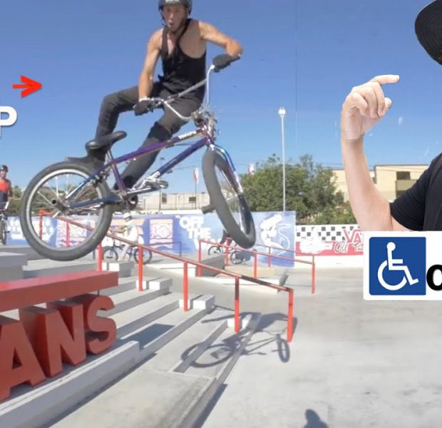 Can A Handicap Guy Teach You How To Tail Whip?