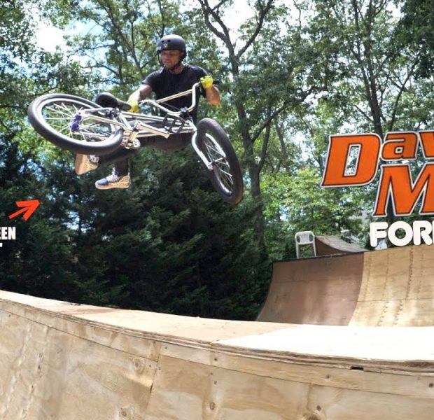 Cory Berglar Dedicates A Trick To Dave Mirra!