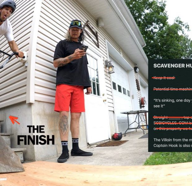 Find The Parts And Build The Bike – BMX Scavenger Hunt!