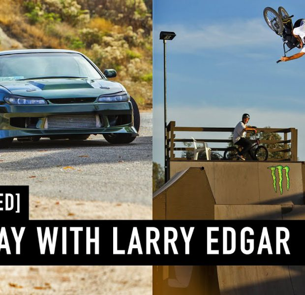 GOING FAST – A DAY WITH LARRY EDGAR