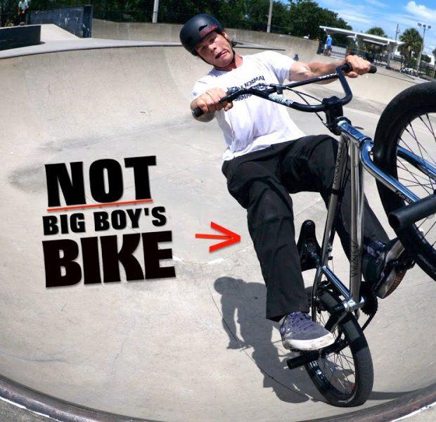 I Really Hope Big Boy Doesn't Break My Bike!