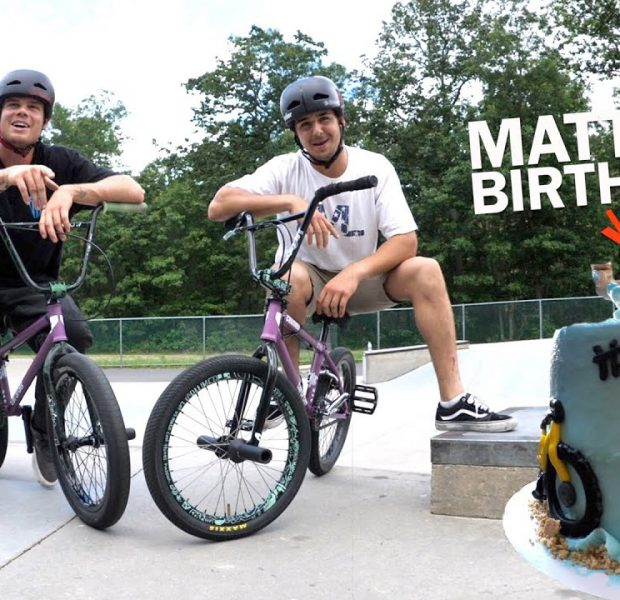Matty Does 23 Tricks For His 23rd Birthday!