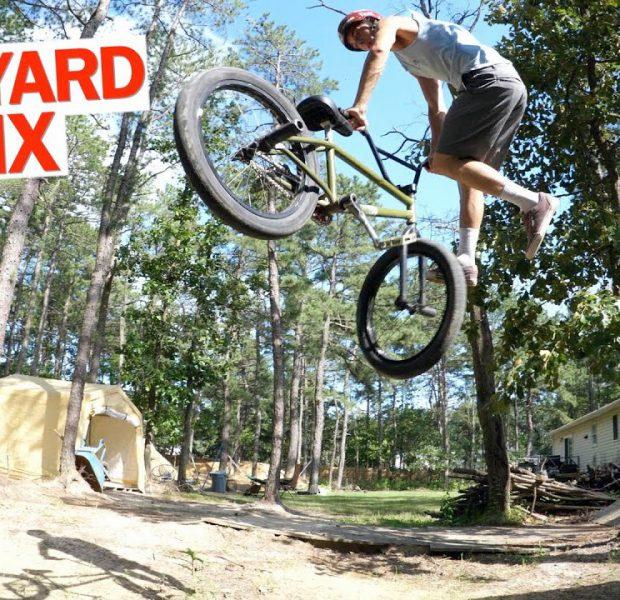 Mid-School Style BMX Backyard Session!