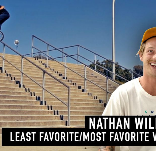NATHAN WILLIAMS: LEAST FAVORITE/MOST FAVORITE