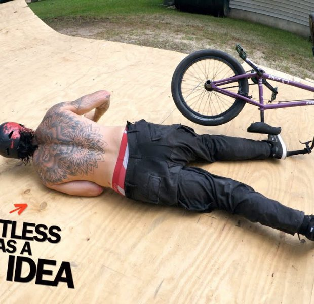Riding Shirtless Is Always A Bad Idea!