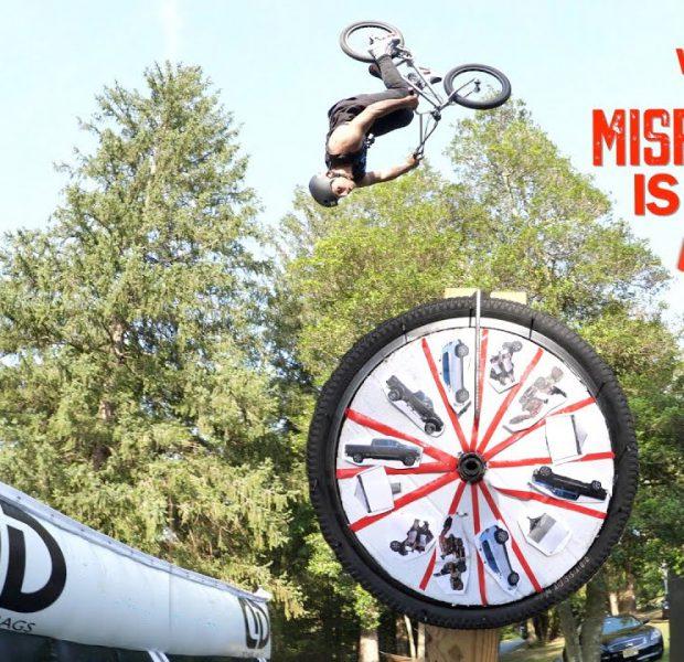 Wheel Of Misfortune Air Bag Jump!