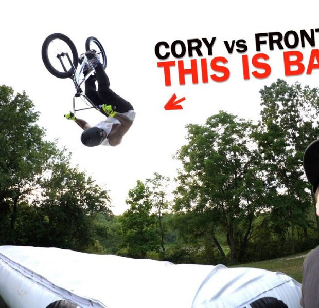 You Will Not Believe How Cory Lands This Front Flip!