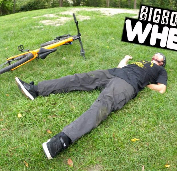 Big Boy Can't Do A Wheelie To Save His Life!