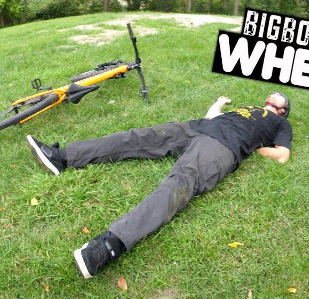 Big Boy Can't Do A Wheelie To Save His Life!