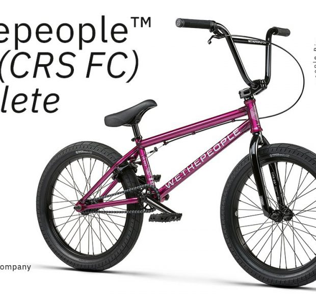 The CRS FC 2021 Complete Bike – WETHEPEOPLE BMX