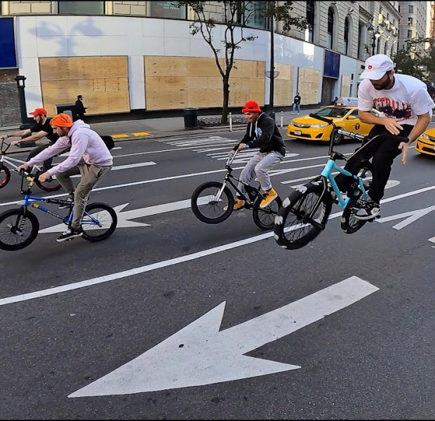 Riding BMX in Boarded up NYC (DailyCruise 38)