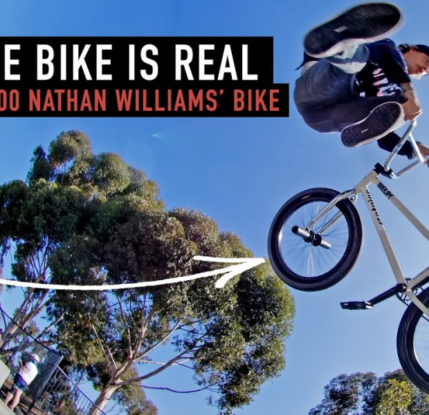 WIN THIS $1400 BIKE  PART TWO – NATHAN RIDES IT
