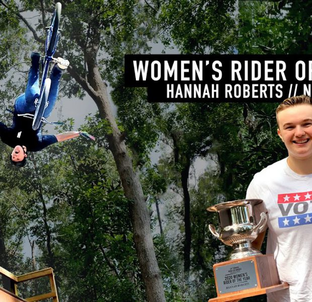 WOMEN'S RIDER OF THE YEAR – HANNAH ROBERTS – NORA CUP 2020