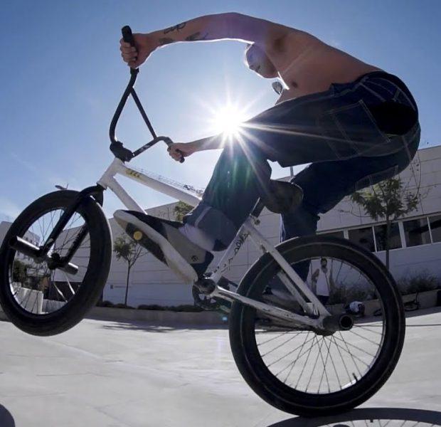 BMX Street: Fernando Laczko in  ALMERIA, Spain (BMX Bike Riding / RAW Edit)