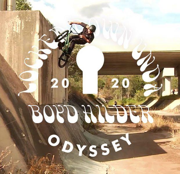 BOYD HILDER   Odyssey BMX – Locked Down Unda'
