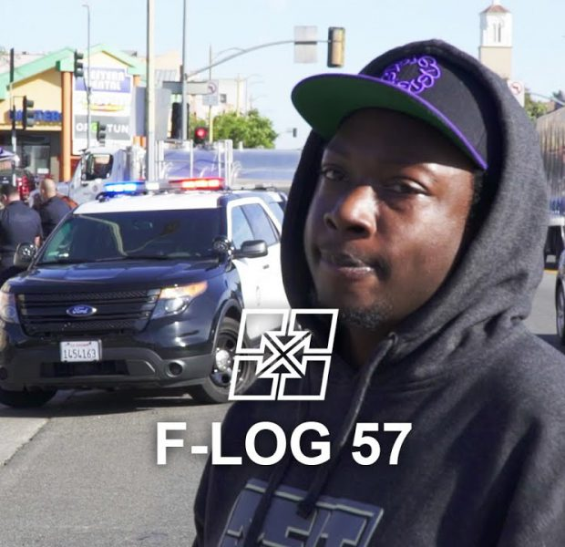 F-LOG 57: STUCK IN A POLICE CHASE