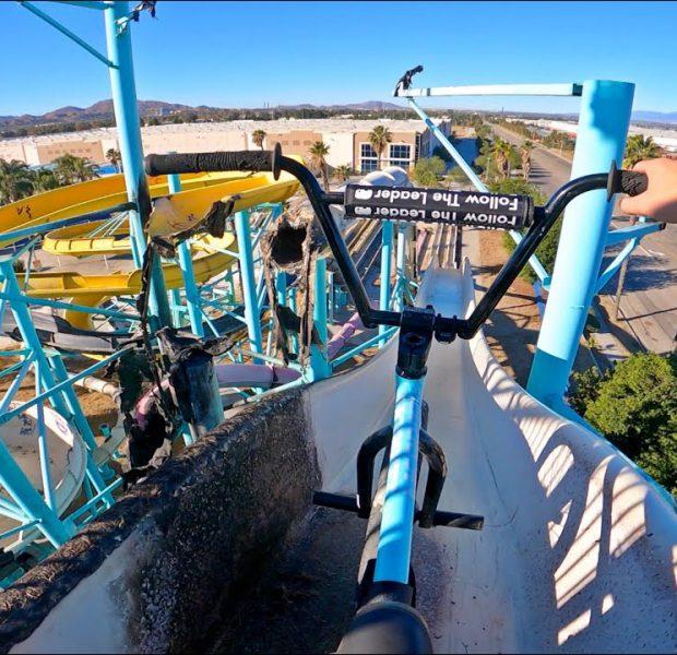 GoPro BMX BIKE RIDING INSANE WATERPARK 2