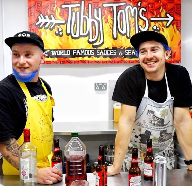How to make a HOT SAUCE   Tubby Tom's x BQR collab