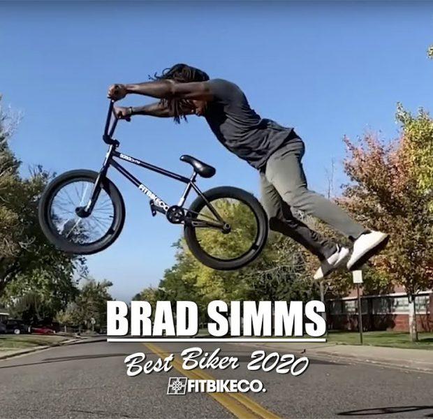 BRAD SIMMS – 2020 BEST BIKER