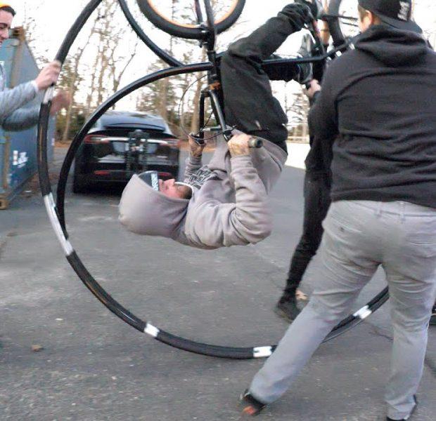 Building The Roller Coaster Bike!