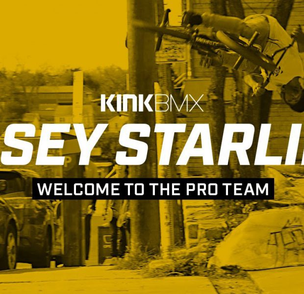 Casey Starling Welcome To The Pro Team! – Kink BMX