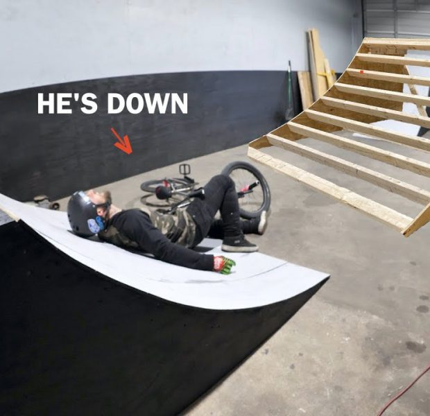 Cory Built A Ramp! And Then He Crashed..
