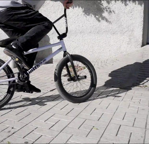 BMX Bike riding in the Streets of Spain / RAW Series Fernando Laczko