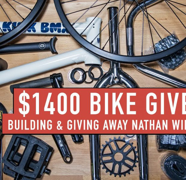 BUILDING (AND GIVING AWAY) A CUSTOM NATHAN WILLIAMS BIKE
