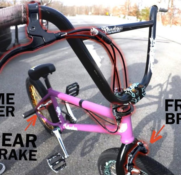 Can This New Brake System Change BMX Tricks? | Dual Brakes Single Lever