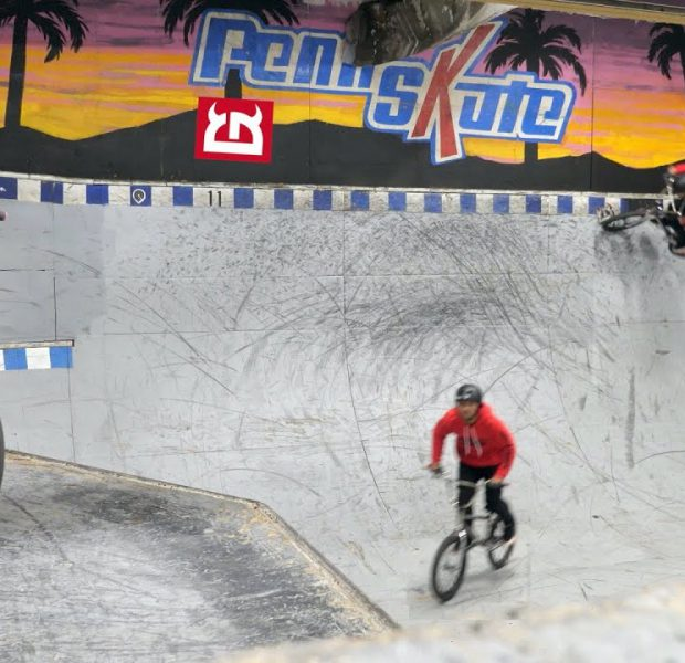 """Riding An Iconic Ramp In BMX History   """"The Little Devil Bowl"""""""