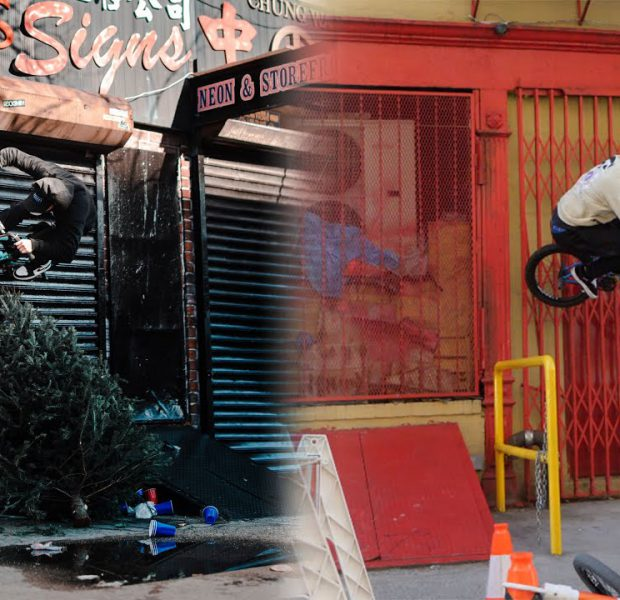 Riding BMX at NYC's Grittiest Spots