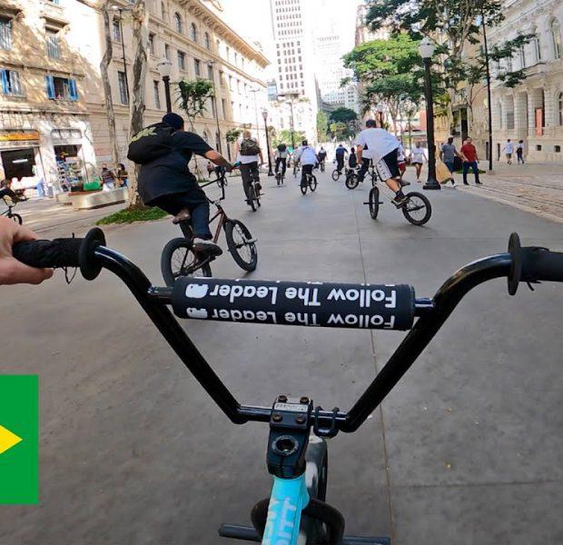 Riding BMX in São Paulo, Brazil! (DailyCruise 40)