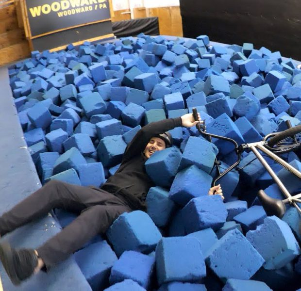 Scotty Cranmer's Road To The Backflip | First Time Foam Pit Fail!