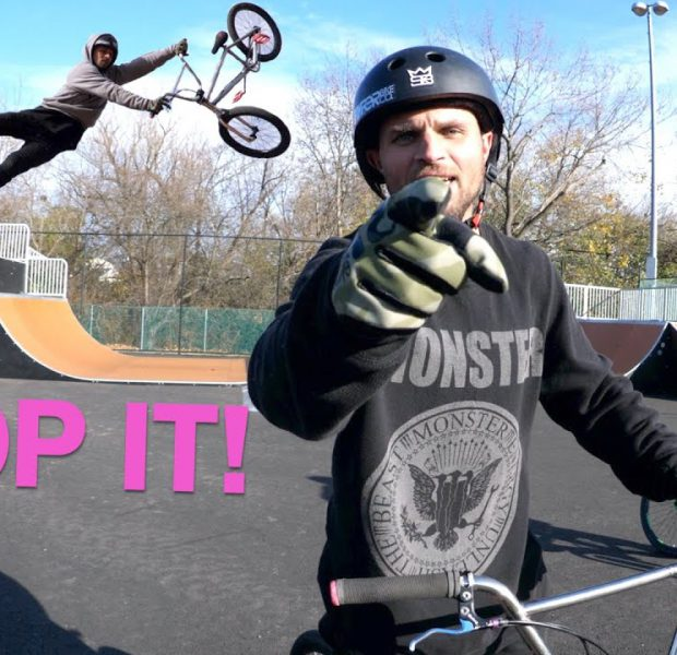 Stop Bullying Cory Berglar About His Tail Whips!