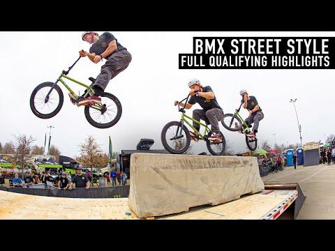FULL QUALIFYING HIGHLIGHTS – BMX STREET STYLE 2021