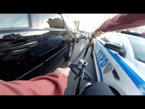 GoPro BMX: FASTEST Way Around NYC