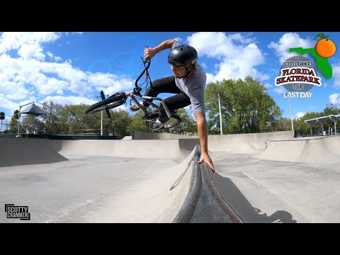 Matty Is Getting Even Better! | New Tricks On The Last Day Of The Florida Skatepark Tour!