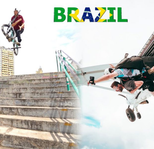 BMX and Crazy Adventures in Brazil! 🇧🇷