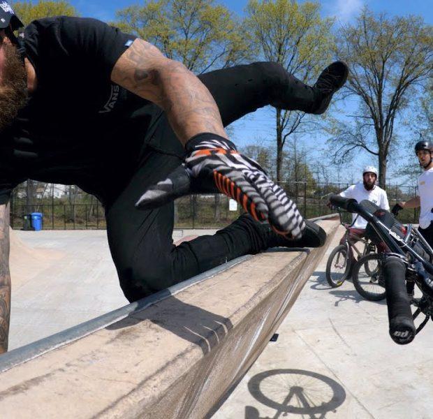 Cory Berglar Is Starting With A Bang At The Skatepark!