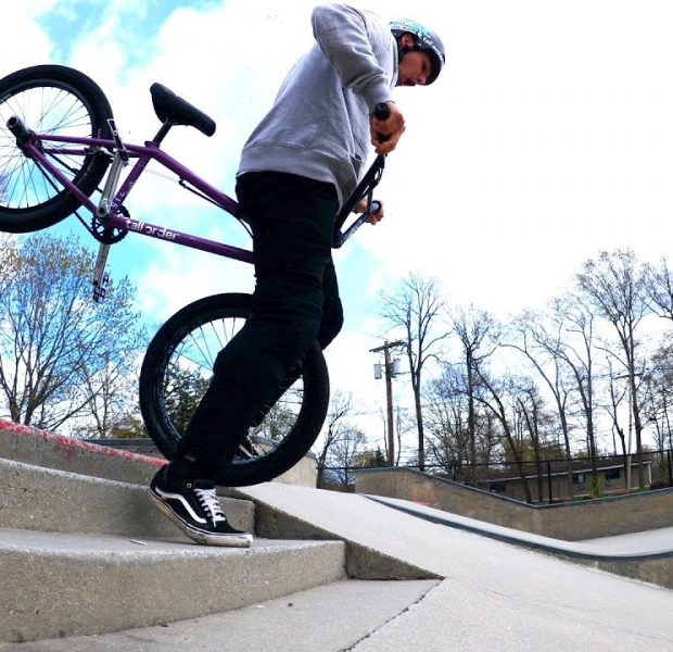 Don't Do This On Stairs At The Skatepark!