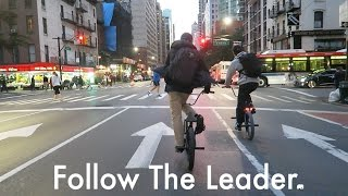 Follow The Leader BMX in NYC Fall 2016