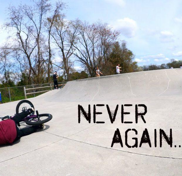 Matty Will NEVER Ride This Skatepark Again!